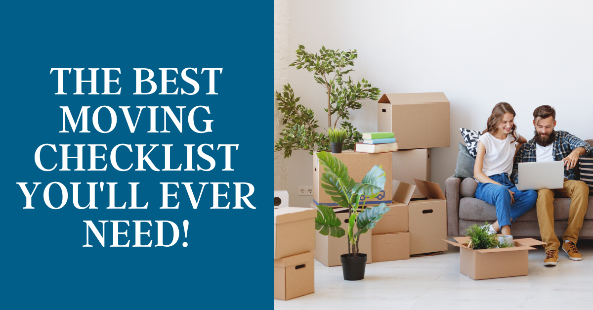 The Best Moving Checklist You'll Ever Need
