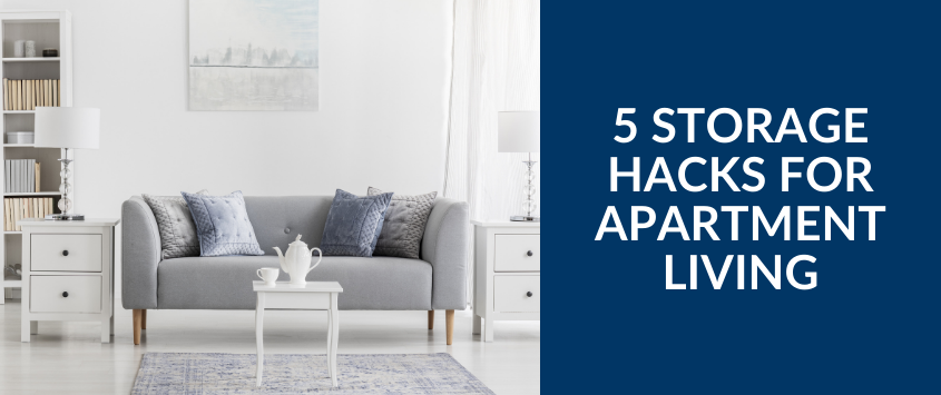 5 Storage Hacks For Apartment Living